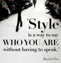 I totally agree w/ this quote! I really believe that when we look our best, we feel our best. And people pick up on that. Feeling good has a ripple effect on our lives and the people around us.