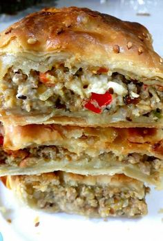 Food Network Recipes, Cooking Recipes, Quiche, The Kitchen Food Network, Baking And Pastry, Greek Recipes, Pizza, Appetizers For Party, Creative Food