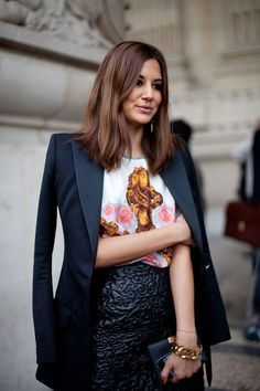 Paris Street Style Spring 2013 - Paris Fashion Week Street Style - Harper's BAZAAR