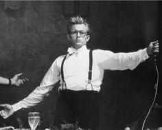 """James Dean rehearsing his drunken speech for """"Giant"""""""