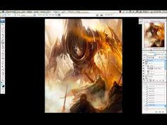 Capture mood in your fantasy illustration in Photoshop - by Daarken