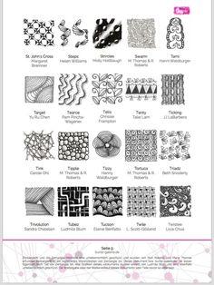 ein persnlicher favorit aus meinem etsy shop httpswwwetsy - Zentangle Muster