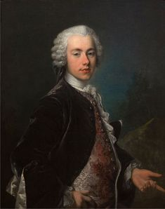 Louis Tocqué, c.1745, Portrait of Frederik Berregaard - Louis Tocqué - Wikipedia, the free encyclopedia