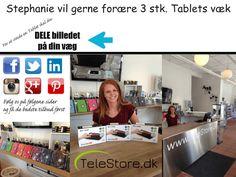 Telestore: Skal du også vinde en Tablet