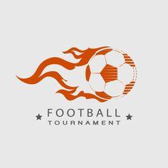 Football Soccer tournament logo ball on fire - Custom Wallpaper Soccer Art, Soccer Logo, Soccer Poster, Football Soccer, Sports Logo, Soccer Workouts, Soccer Drills, Soccer Tips, Soccer Cleats