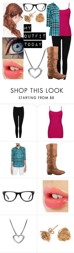 """My Outfit"" by imafangur ❤ liked on Polyvore featuring M&Co, BKE core, Burberry, Steve Madden, Muse, Charlotte Tilbury and Dower & Hall"