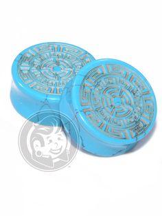 Aztec Circle Pattern Engraved Turquoise Plugs