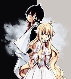 Fairy tail// Zeref and Mavis