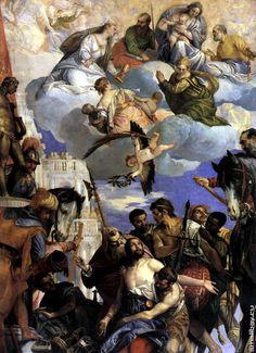 Веронезе Умерщвление святого Георгия Умерщвление святого Георгия 1564. Монастырь Сан Джорджо, Верона.