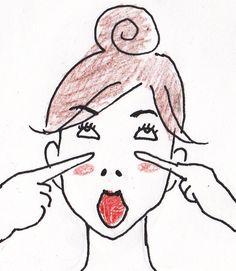 $整形しないでたるみを解消!見た目年齢を13歳下げる究極のモチ肌形成塾 Make Beauty, Health And Beauty Tips, Face Exercises, Face Yoga, Puffy Eyes, Dark Circles, Beauty Hacks, Facial, Health Fitness