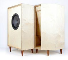 birch plywood speaker set