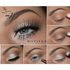 Eye Makeup Tips – How To Apply Eyeliner – Makeup Design Ideas Pink Lipstick Makeup, Silver Eye Makeup, Pink Eyeshadow, Smokey Eye Makeup, Eyeshadow Makeup, Silver Eyeshadow Looks, Motives Makeup, Lipstick Palette, Smoky Eyeshadow