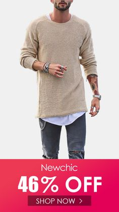 YUNY Mens Basic Style Knit Jumper O-Neck Hit Color Pullover Knitwear Wine Red XL
