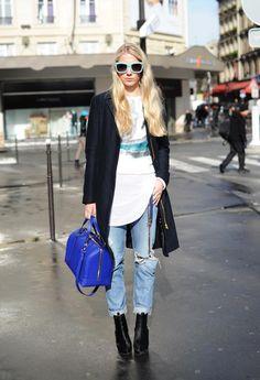 【PARIS】Outer: BRUUNS BAZAAR / Bag: ZARA / Shoes: Tiger of Sweden