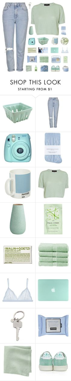 """""""sweep the streets i used to own"""" by baesically-addy ❤ liked on Polyvore featuring Topshop, Fuji, Johnstons, Pantone, Isabel Marant, CB2, H&M, (MALIN+GOETZ), Christy and Cosabella"""