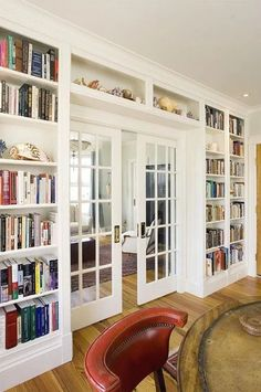 Home Library Office Ideas Built Ins 60 Ideas For 2019 Home Library Design, Interior Design Living Room, Living Room Decor, Kitchen Interior, Interior Livingroom, Library Ideas, Kitchen Designs, Room Interior, French Living Rooms