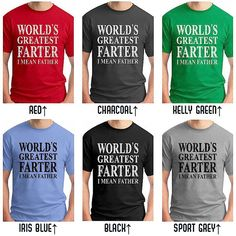 FAST Shipping! Most Orders are printed and shipped within 1 business day  >>> Get it Faster - Priority Mail Shipping Upgrade Available (US only) for $3 at https://www.etsy.com/listing/122898083/ -----------------------------------------------------------------------------------------------  Check out all of our Fathers Day T Shirts at the link below: https://www.etsy.com/shop/EconomyGrocery?section_id=15270891  Also Available: This Is What An Awesome Dad Looks Like at…
