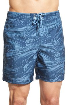 Original Penguin Printed Volley Swim Trunks available at #Nordstrom