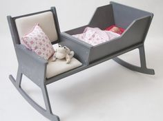 Ontwerpduo Rockid Resting Space Lets Parents and Baby Rock Together