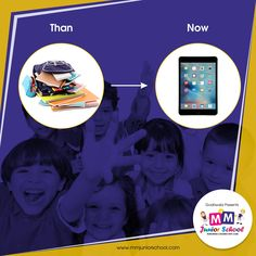 Say bye-bye to the heavy bags, Join MM Junior School now. Technology re-shaping the education. #MMJuniorSchool