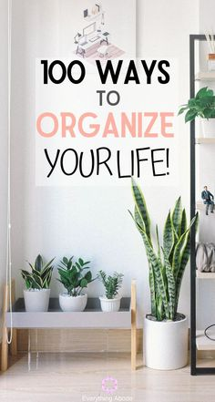 You Need These 100 Ways to Get Seriously Organized If You Are Stressing About All That Clutter. These 100 Tips and Tricks Will Make Life a Whole Lot Easier and Organized for You! Organize Your Life, Declutter Your Home, Organizing Your Home, Organising, Linen Closet Organization, Home Organization Hacks, Clutter Organization, Storage Hacks, Organizing Ideas