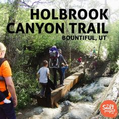 Holbrook Canyon Trail | Bountiful | The Salt Project | Things to do in Utah with kids