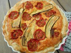 Tærte med bagte tomater