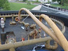 Large fountain pipes we rehabilitated in DC
