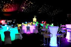 Glow in the dark private party