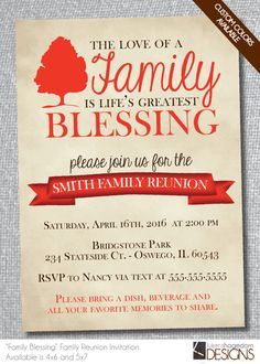 Family reunion favors personalized photo bookmarks with family rustic family reunion invitation digital file custom colors stopboris Images
