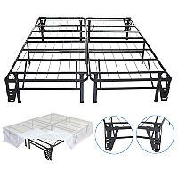 Night Therapy Smart Base Steel Bed Frame Foundation - Queen - Sam's Club