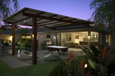 Pergola For Small Patio Exterior Design, Australian Homes, Alfresco Area, House Design Kitchen, House Exterior, Exterior Renovation, Entrance Design, Outdoor Rooms, House Designs Exterior