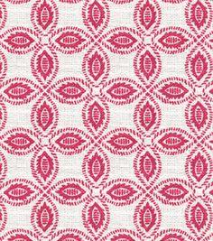 Annie Selke Tala - Raspberry  $49.99 Joann.com