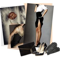 A fashion look from September 2014 featuring Rupert Sanderson pumps, Henri Bendel clutches e MICHAEL Michael Kors gloves. Browse and shop related looks.