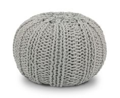Bug Knitted Pouffe in Ash Grey Large Bedroom, Kids Bedroom, Blue Bedroom, Bedroom Ideas, Ercol Sofa, Knitted Pouffe, Snug Room, Meet Friends, Space Interiors