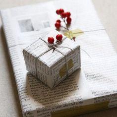 Un emballage cadeau esprit récup' - Marie Claire Maison