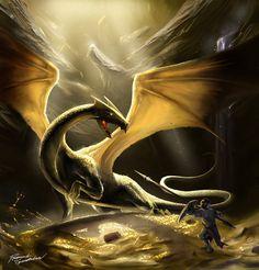 Enter the Dragons lair by Shockbolt.deviantart.com on @deviantART