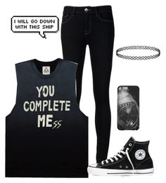 """""""Untitled #244"""" by just-autumn ❤ liked on Polyvore featuring Ström, UNIF and Converse"""