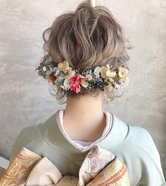 Cute Hairstyles, Wedding Hairstyles, October Fashion, Hair Arrange, Bridal Flowers, Headdress, Bridal Hair, Your Hair, Marie