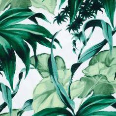 Tyg jungle leaf åhlens