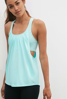 2-in-1 Space Dye Athletic Tank | Forever 21 - 2000130824