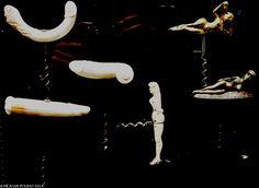 Sacacorchos eróticos. Erotic corckscrews