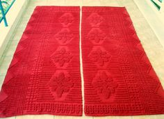 For Bedrooms in Red,and not only.... Vintage Anatolian Red  Kilim Rug Wool on Wool by VintageHomeStories, €300.00