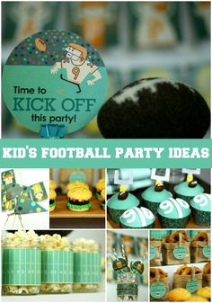 Kids Football Party Ideas!