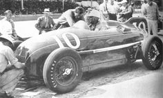 In 1946 this 4WD Twin Fageol was driven by Paul Russo. It started 2nd but finished last.