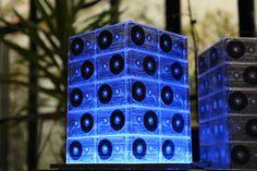 Cassette Tape Lamp, LED Panel lighting by Schill, via Flickr