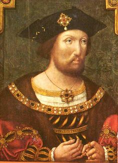 The young King Henry VIII looks quite similar to his first wife and 3rd cousin once removed Katherine of Aragon