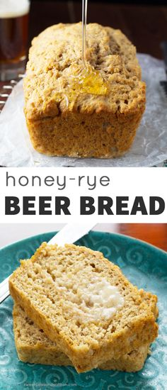 Honey-Rye Beer Bread, 7 ingredients and ready for the oven in under 15 ...