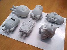 Plan-A project on Behance Vinyl Toys, Vinyl Art, 3d Character, Character Design, Character Concept, Modelos 3d, 3d Studio, 3d Prints, Ceramic Design