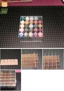 tutorial - make your own Stickles storage